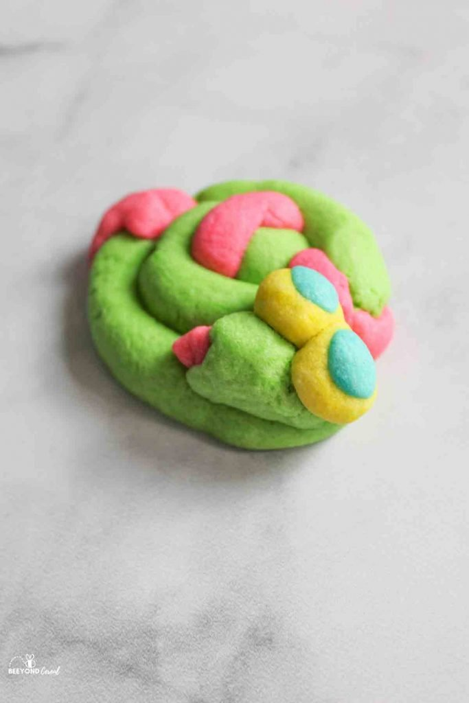 play doh cookie snake