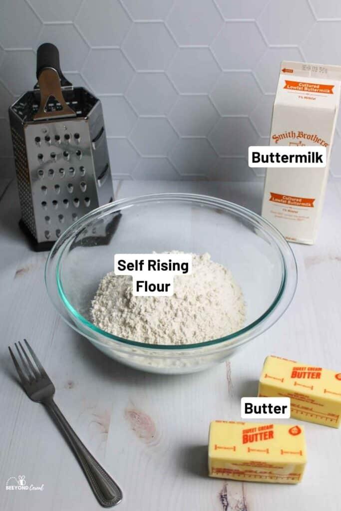 ingredient needed to make 3 ingredient biscuits
