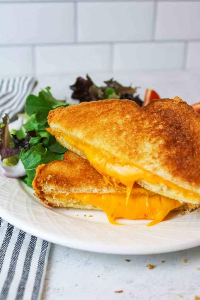 ingredients needed for microwave grilled cheese sandwich