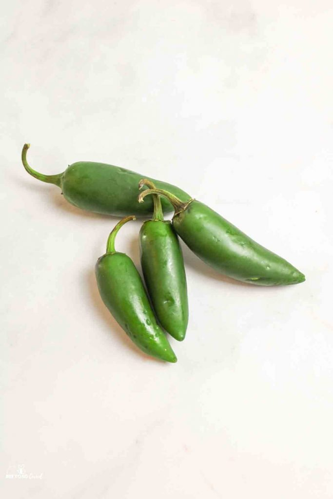 fresh whole jalapenos