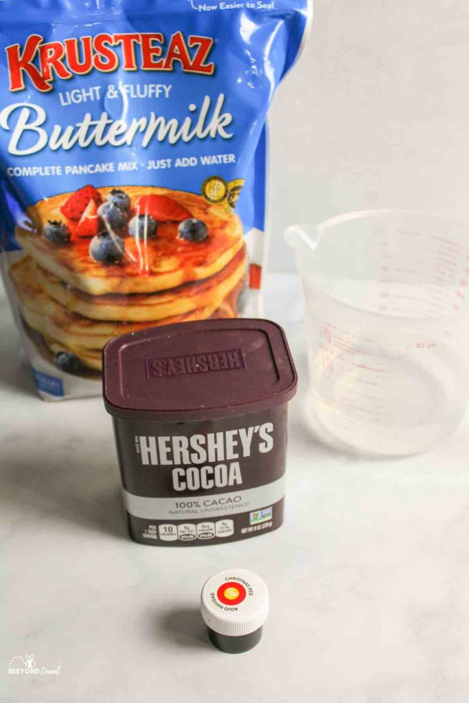 ingredients needed for red velvet funnel cakes